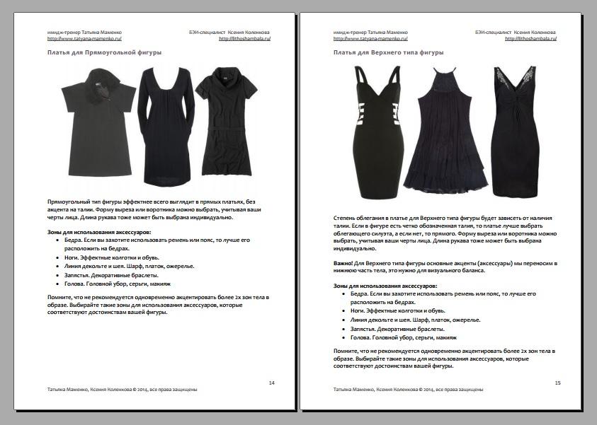 Черное платье модные сеты