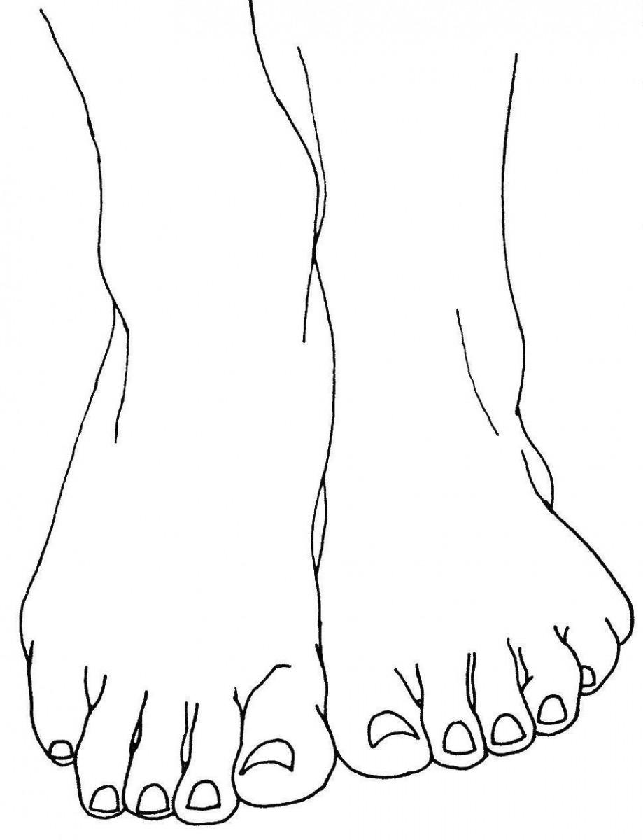 Для мужчины, ноги картинки для детей нарисованные